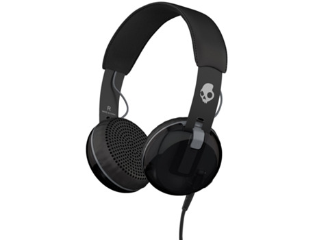 Auscultadores Com fio SKULLCANDY Grind (On Ear - Microfone - Multicor) — On Ear | Microfone | Atende chamadas