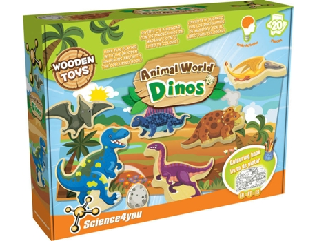 Kit SCIENCE4YOU Animal World - Dinos — Science4You