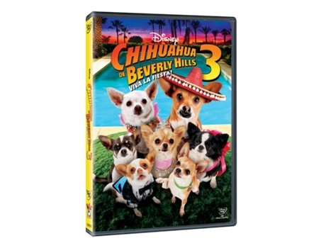 DVD Chihuahua de Beverly Hills 3 — De: Lev L. Spiro | Com: Madison Pettis,Odette Annable,Kay Panabaker