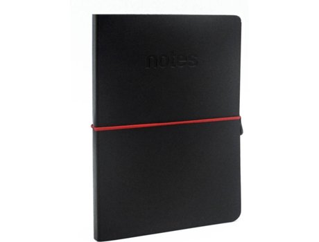Bloco de Apontamentos MAKE NOTES Preto — A7 | 96 folhas