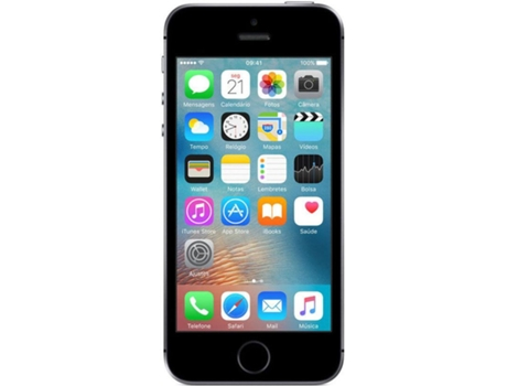 Smartphone VODAFONE Apple iPhone SE 64GB Cinzento — iOS 9 / A9 / 12MP