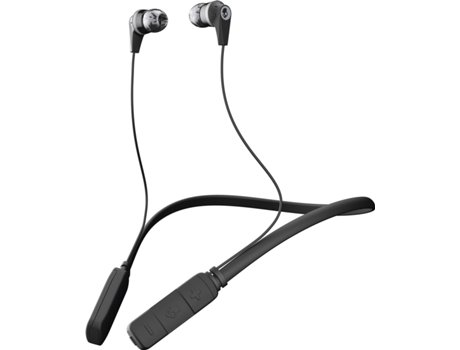 Auriculares Bluetooth SKULLCANDY Ink'd 2.0 (In Ear - Microfone - Cinzento) — In Ear | Microfone | Atende chamadas