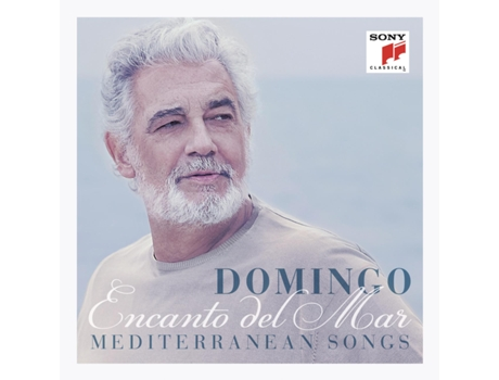 CD Placido Domingo - Encanto Del Mar - Mediterranean Songs — Clássica