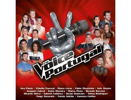 CD Vários - The Voice Portugal 2017 — Pop-Rock