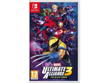 Jogo Nintendo Switch Marvel Ultimate Alliance 3 - The Black Order (M12)