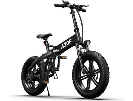 Marca do fabricante - Bicicleta Elétrica CROSS-COUNTRY Dobrável (20x4 - Preto - Autonomia: 50 km  Velocidade Máx: 25 km/h)
