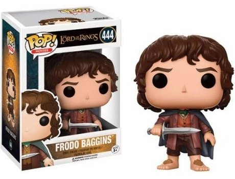Figura Vinil FUNKO POP! Lord of the Rings: Frodo Baggins — Senhor dos Anéis