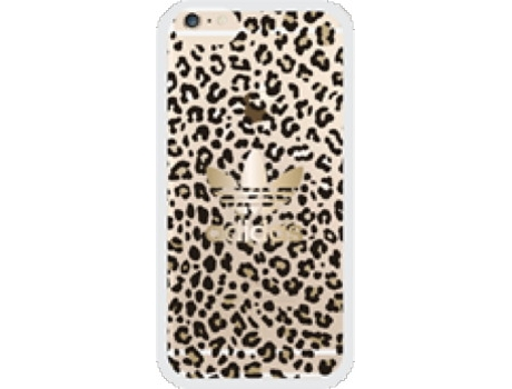 Capa iPhone 6/6S ADIDAS Leopard — Compatibilidade: iPhone 6/6S