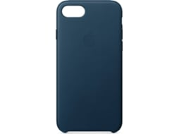 Capa APPLE Leather Cosmos iPhone 7, 8 Azul — Compatibilidade: iPhone 7, 8