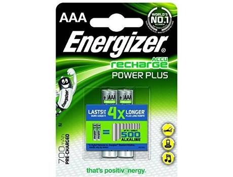 Pilhas Recarregáveis ENERGIZER HR03 700mAh (2 unidades) | [6640395 ]