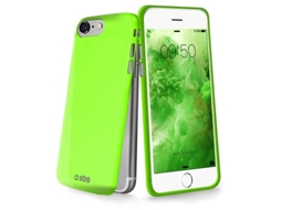 Capa SBS Extra Slim iPhone 5, 5s, SE Verde — Compatibilidade: Apple iPhone 5, 5s, SE