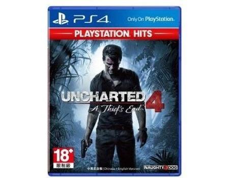 Jogo PS4 Uncharted 4: A Thief's End (PS4 Hits) (Ação/Aventura - M18) | [6642664 ]
