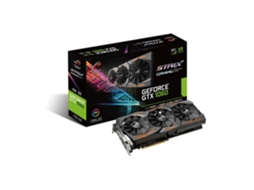 Placa Gráfica ASUS GTX 1060 ROG STRIX 6GB DDR5 — GeForce GTX 1060 / 1531 MHz / 6GB GDDR5