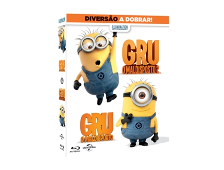 Blu-Ray Pack Gru - O Maldisposto — De: Pierre Coffin, Chris Renaud | Com: