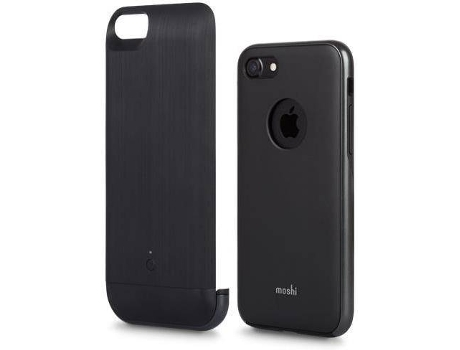 Capa MOSHI Ionsuit Steel iPhone 7, 8 Preto — Compatibilidade: iPhone 7, 8