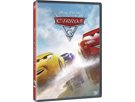 DVD Carros 3 — De: Brian Fee