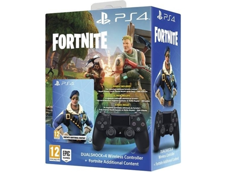 Comando PS4 Dualshock 4 Wireless + Fortnite — Para PS4
