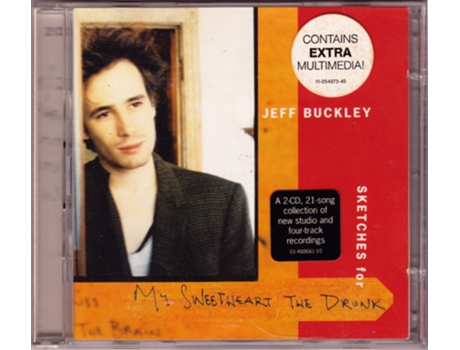 CD Jeff Buckley - Sketches For My Sweetheart The Drunk
