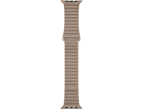 Bracelete APPLE 42mm Stone Leather Loop - Medium — Bracelete | 42 mm | Média