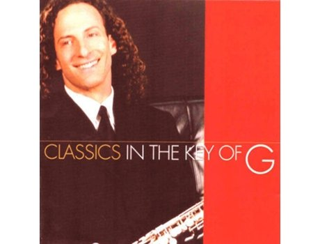 CD Kenny G - Classics in the Key of G — Pop-Rock