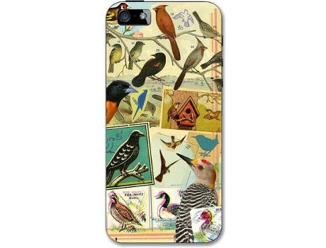 Capa ARTBIRD Snap-On iPhone 5/5S/Se Birds — Capa / iPhone 5/5S/Se