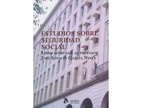 Marca do fabricante - Livro Estudios Sobre Seguridad Social de Vários Autores