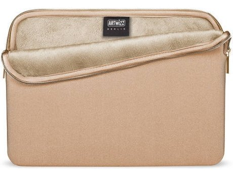 Bolsa ARTWIZZ Neoprene MacBook 12'' Dourado — 12''