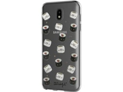 Capa MR. WONDERFUL Sushi Samsung Galaxy J7 2017 Multicor — Compatibilidade: Samsung Galaxy J7 2017