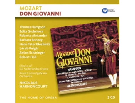 CD The Home Of Opera - Mozart: Don Giovanni