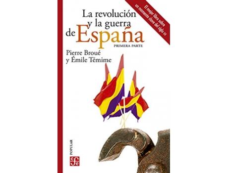 Livro Revolucion Y La Guerrade España Ii,La de Pierre Broue (Espanhol)