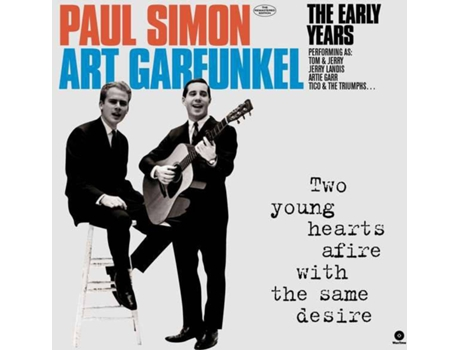 Vinil LP Paul Simon & Art Garfunkel - The Early Years