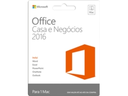 Software MICROSOFT Office Home and Business Mac — Para MacBook | 1 dispositivo
