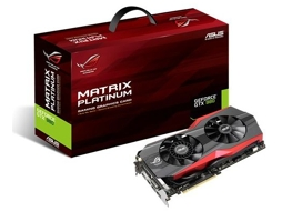 Placa Gráfica ASUS NVIDIA GeForce Matrix GTX 980 4GB — NVIDIA | Matrix GeForce GTX 980 | 4 GB