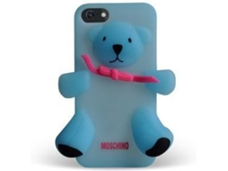 Capa MOSCHINO Bear iPhone 5/5S/Se Blue — Capa / iPhone 5/5S/Se