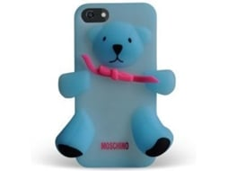 Capa MOSCHINO  Bear Gennarino iPhone 5, 5s, SE Azul — Compatibilidade: iPhone 5, 5s, SE