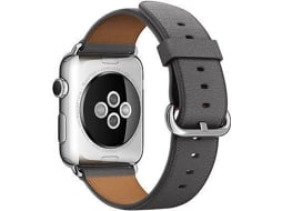 Bracelete APPLE WatchClassic Storm Gray — 42MM / Smartwatch não incluído