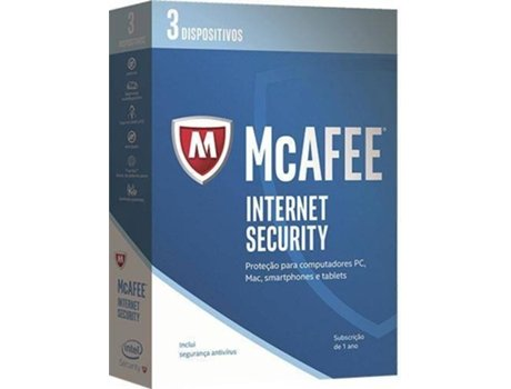 Software MCAFEE Internet Security 2017 3 Dispositivos — 3 Dispositivos