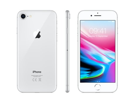 iPhone 8 APPLE (4.7'' - 2 GB - 256 GB - Prateado) — 2 GB RAM | Single SIM | 1 Câmara traseira