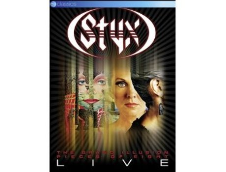 DVD Styx - The Grand Illusion & Pieces of Eight Live — Pop-Rock
