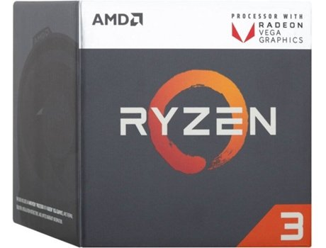Processador AMD Ryzen 3 2200G (Socket AM4 - Quad-Core - 3.5 GHz) — AMD Ryzen 3 2200G | Socket AM4
