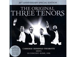CD + DVD The 3 Ternors - In Concert 20th Anniversary — Clássica