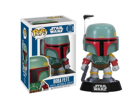 Figura POP! Vinil FUNKO Star Wars: Boba Fett — Star Wars