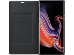 Capa SAMSUNG LED View Galaxy Note 9 Preto — Compatibilidade: Samsung Galaxy Note 9