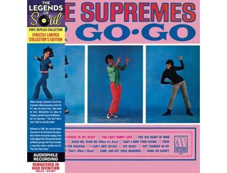 CD The Supremes - A' Go-Go