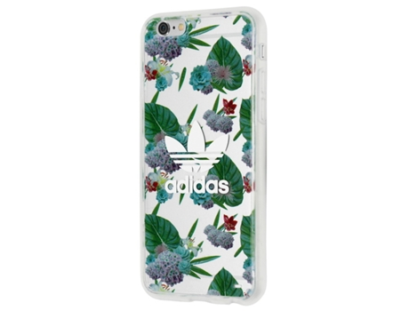 Capa iPhone 6/6S ADIDAS White Logo — Compatibilidade: iPhone 6/6S