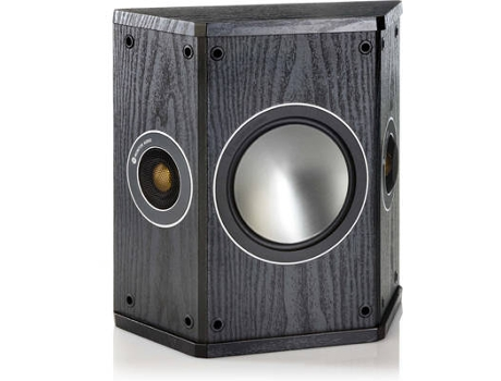 Coluna MONITOR AUDIO Bronze FX Preto — 80W | 65-30Hz