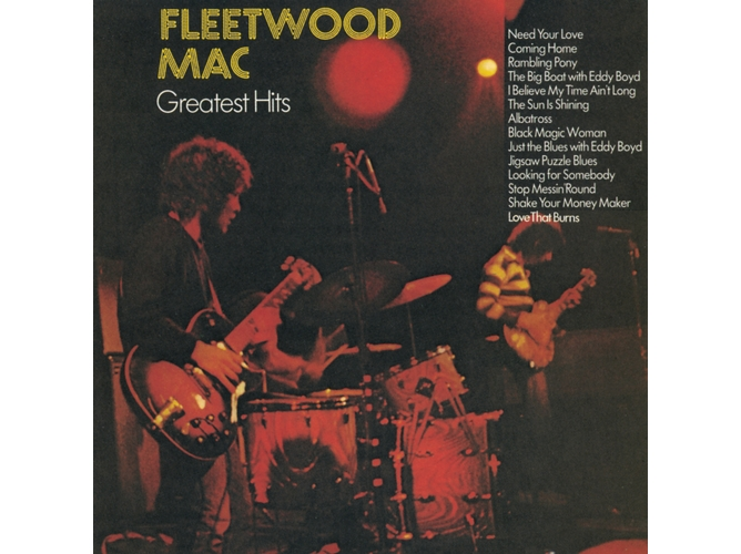 CD Fleetwood Mac Greatest Hits — Pop-Rock