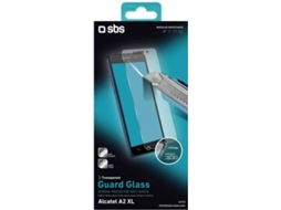 Película Vidro Temperado SBS Guard Glass Alcatel A2 XL — Compatibilidade: Alcatel A2 XL