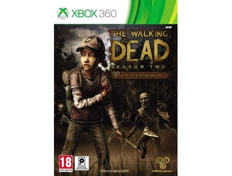 Jogo Xbox 360 The Walking Dead Season 2 M18 Aventura