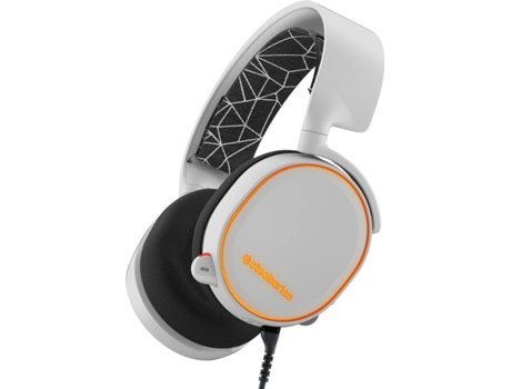 Microauscultadores Gaming Gaming STEELSERIES Artics 5 Branco — Com Fios